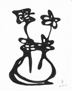 Oneliner vase 230814 #1